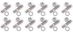 JEGS Performance Products 83150 - JEGS Stainless Steel Header Stud Kits