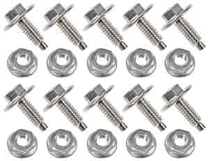 JEGS Performance Products 83600 - JEGS Aluminum Body Bolts