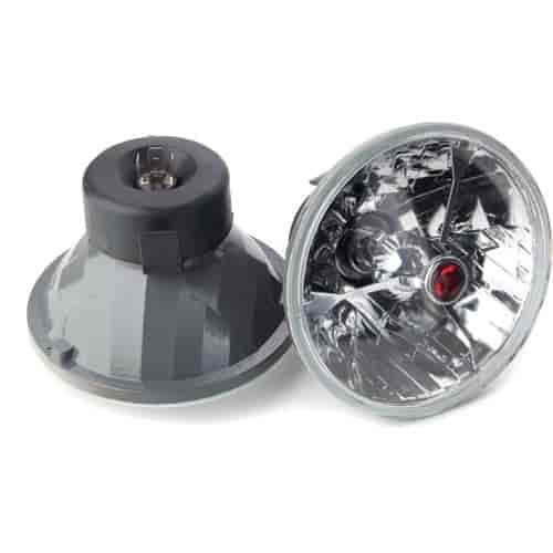 JEGS Performance Products 90101 - JEGS Tri-Bar Round Headlights