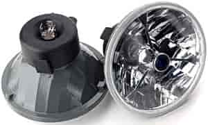 JEGS Performance Products 90102 - JEGS Tri-Bar Round Headlights