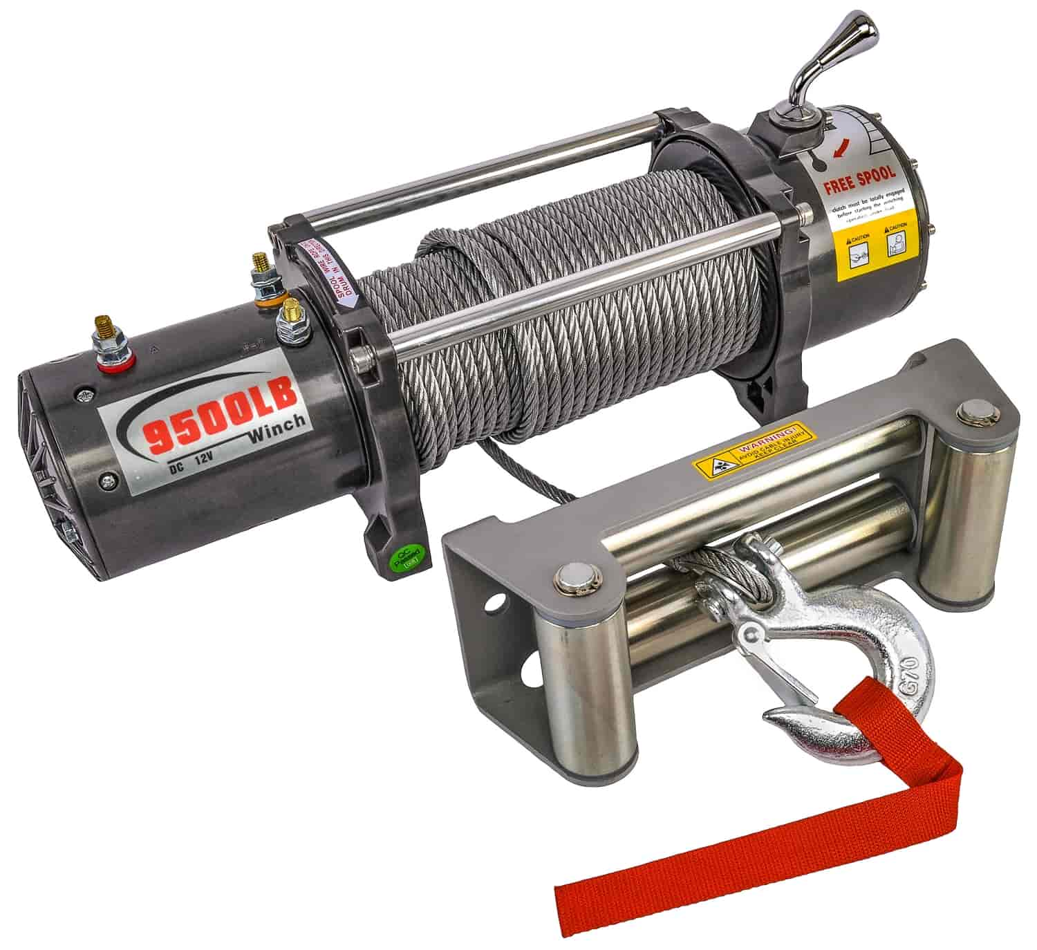 JEGS Electric Winch 9500 lb.