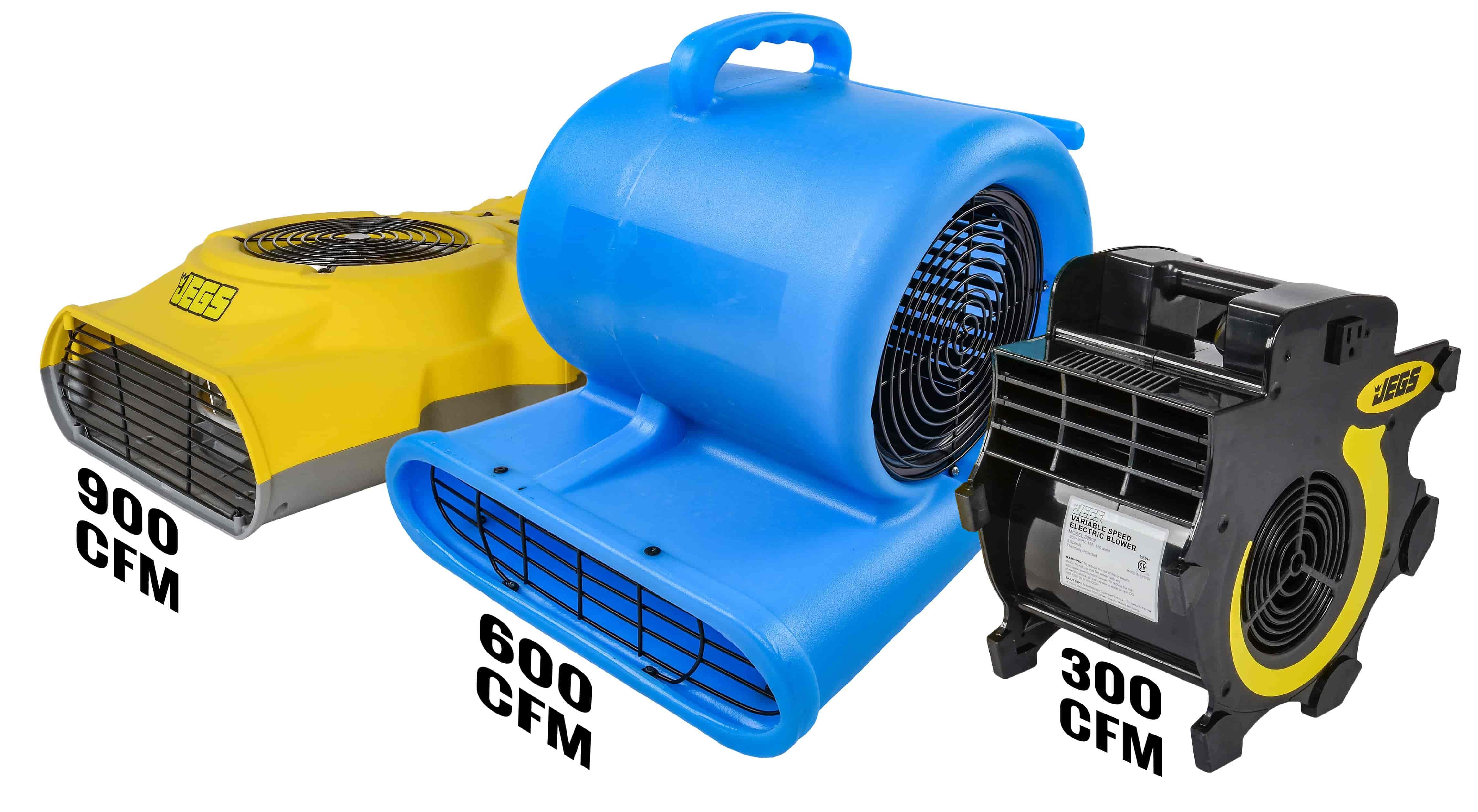 JEGS Portable 3-Speed Blower Fan