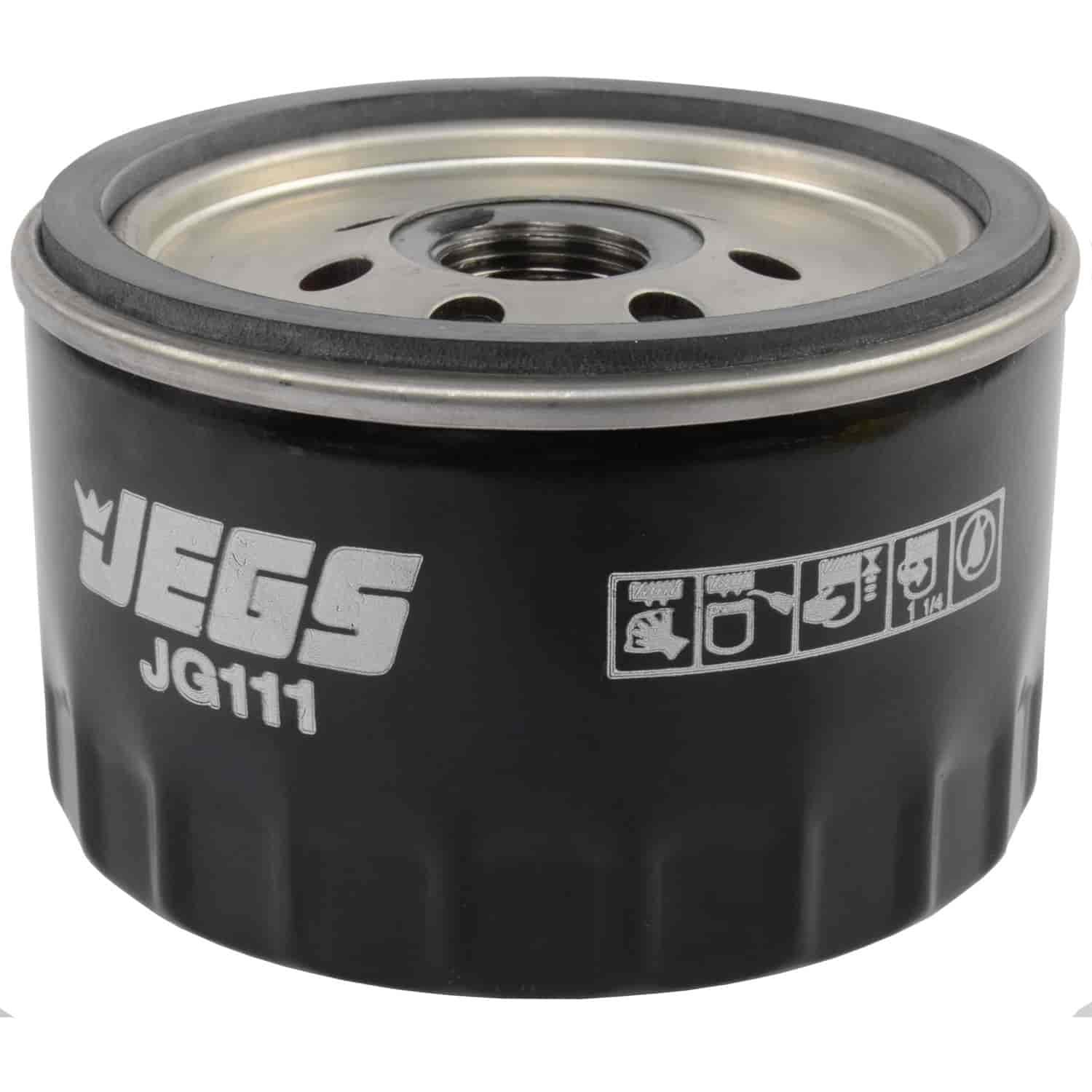 """JEGS Performance GM Oil Filter, 2.61 in. High, 13/16""""-16 UNF Thread"""