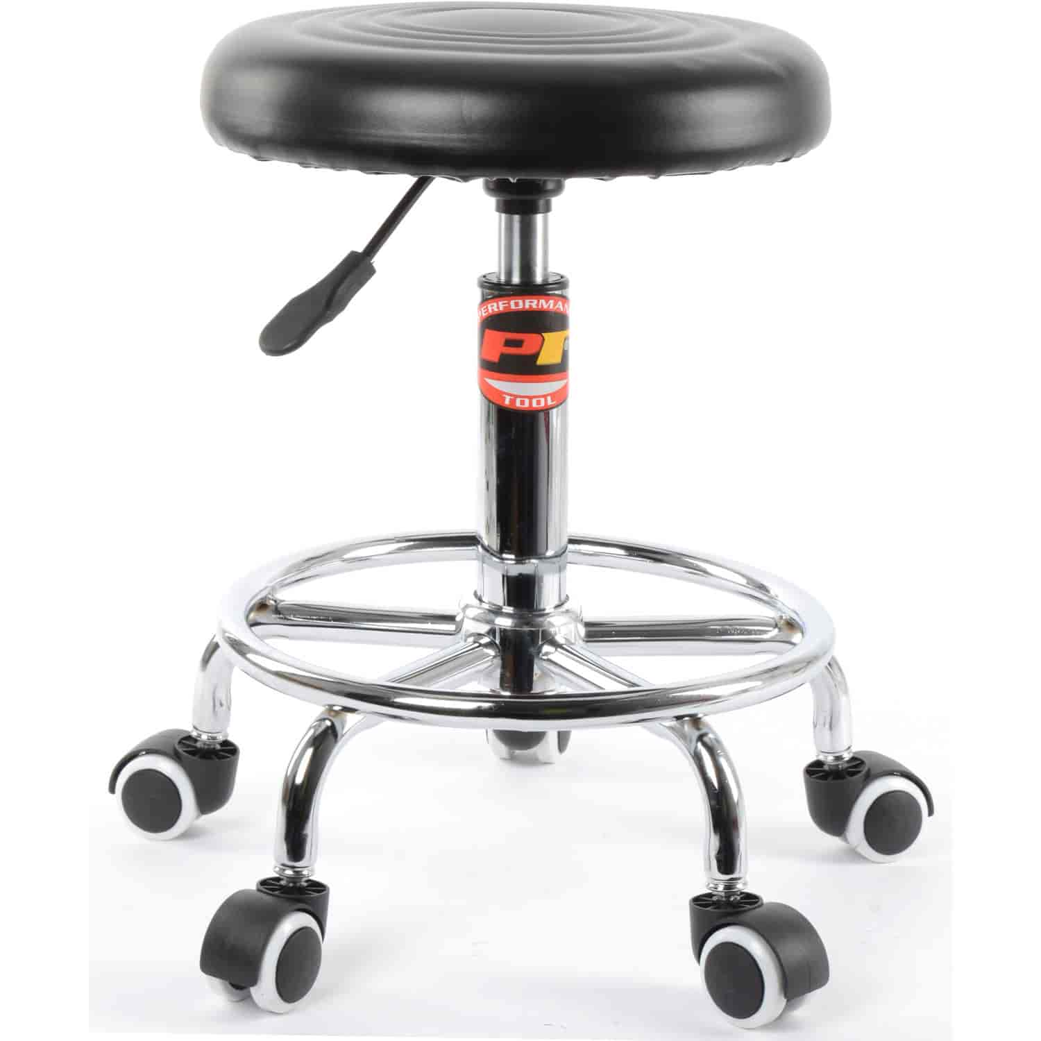 Prime Jegs Pneumatic Rolling Stool 250 Lb Capacity Adjustable From 19 In To 24 In Ibusinesslaw Wood Chair Design Ideas Ibusinesslaworg