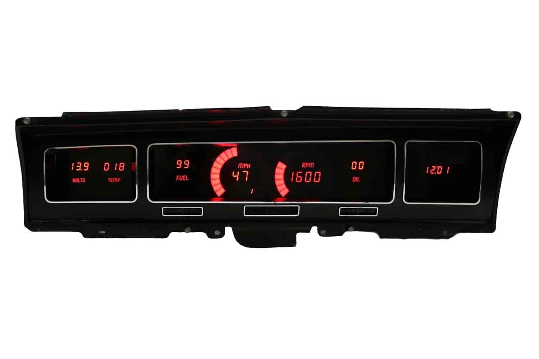 Intellitronix Led Digital Gauges : Intellitronix dp r led digital dash kit impala