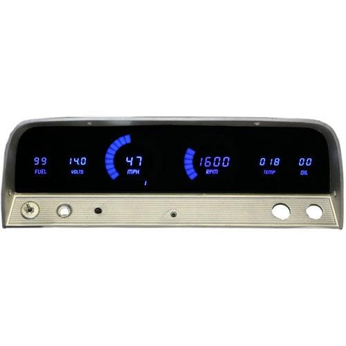 Intellitronix Led Digital Gauges : Intellitronix dp r led digital replacement gauge panel
