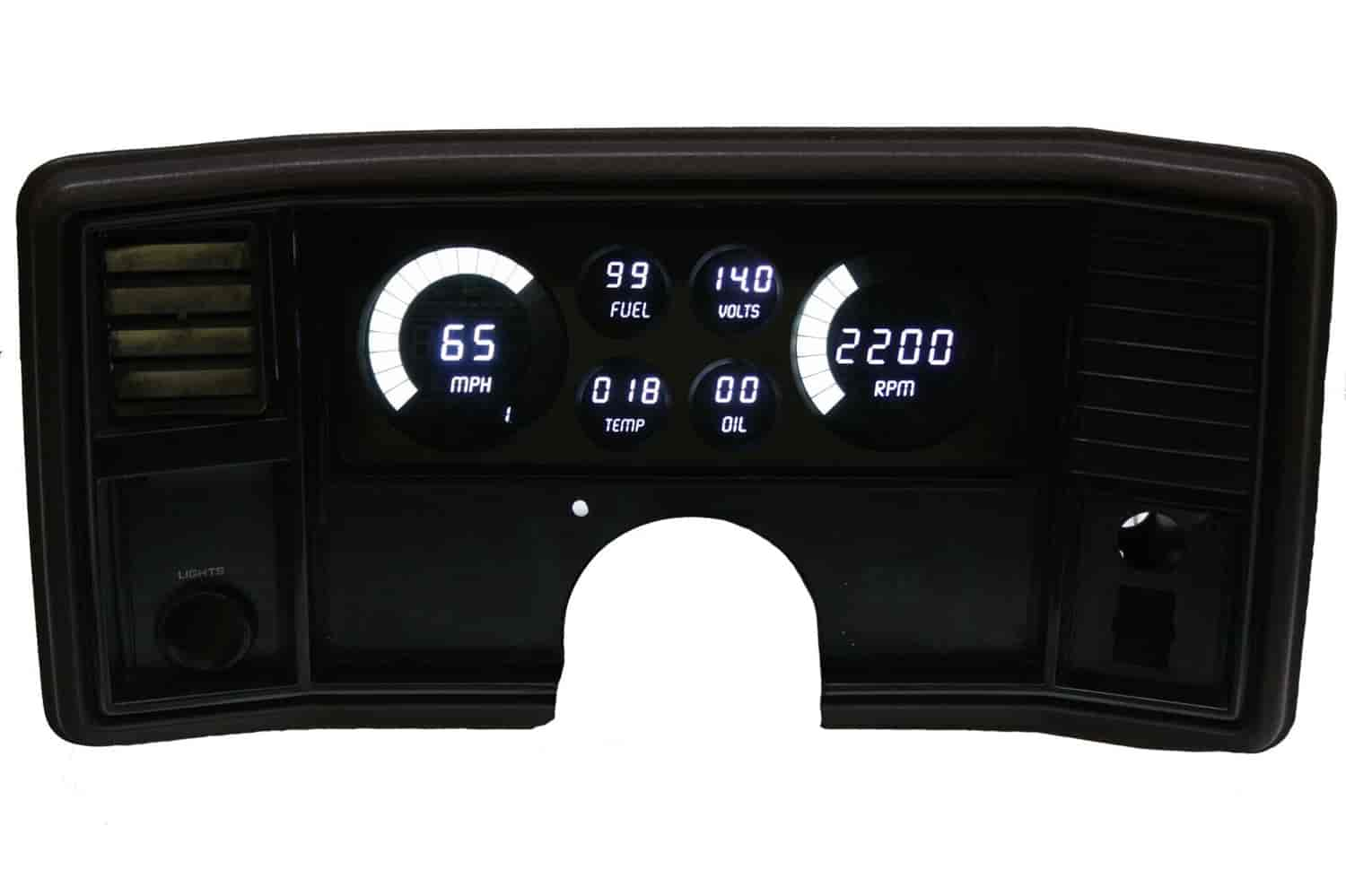 Intellitronix Dp9002w Led Digital Dash Kit 1978 1988 El