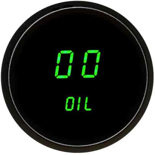 Intellitronix Digital Gauges : Intellitronix m g quot led digital oil pressure