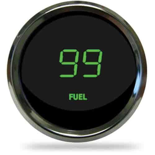 Intellitronix Digital Gauges : Intellitronix ms g quot led digital fuel level