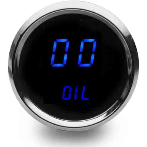 Intellitronix Digital Gauges : Intellitronix ms b quot led digital oil pressure