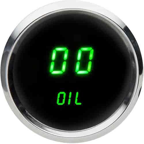 Intellitronix Led Digital Gauges : Intellitronix ms g quot led digital oil pressure