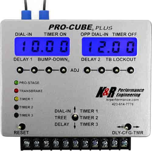 K&R Pro-Cube1 Plus With Single, 4-Stage Timer