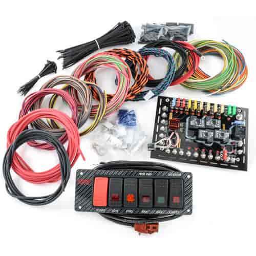 k r sd spd ci dash mount switch panel wire kit heavy duty. Black Bedroom Furniture Sets. Home Design Ideas