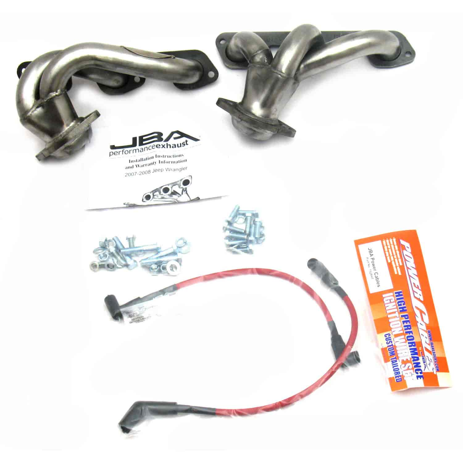 JBA 1528S - JBA Chrysler, Dodge & Jeep Shorty Headers