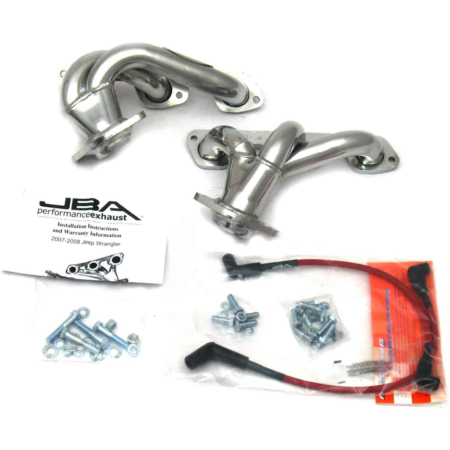 JBA 1528SJS - JBA Chrysler, Dodge & Jeep Shorty Headers