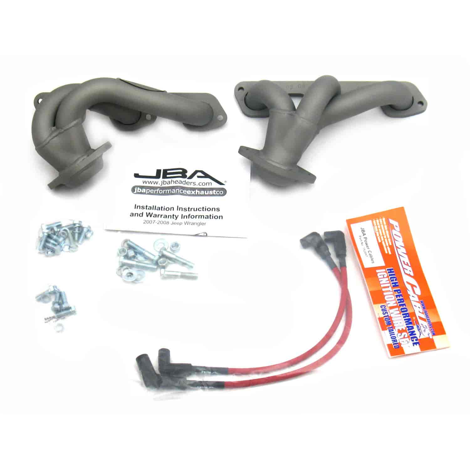 JBA 1528SJT - JBA Mopar Shorty Headers