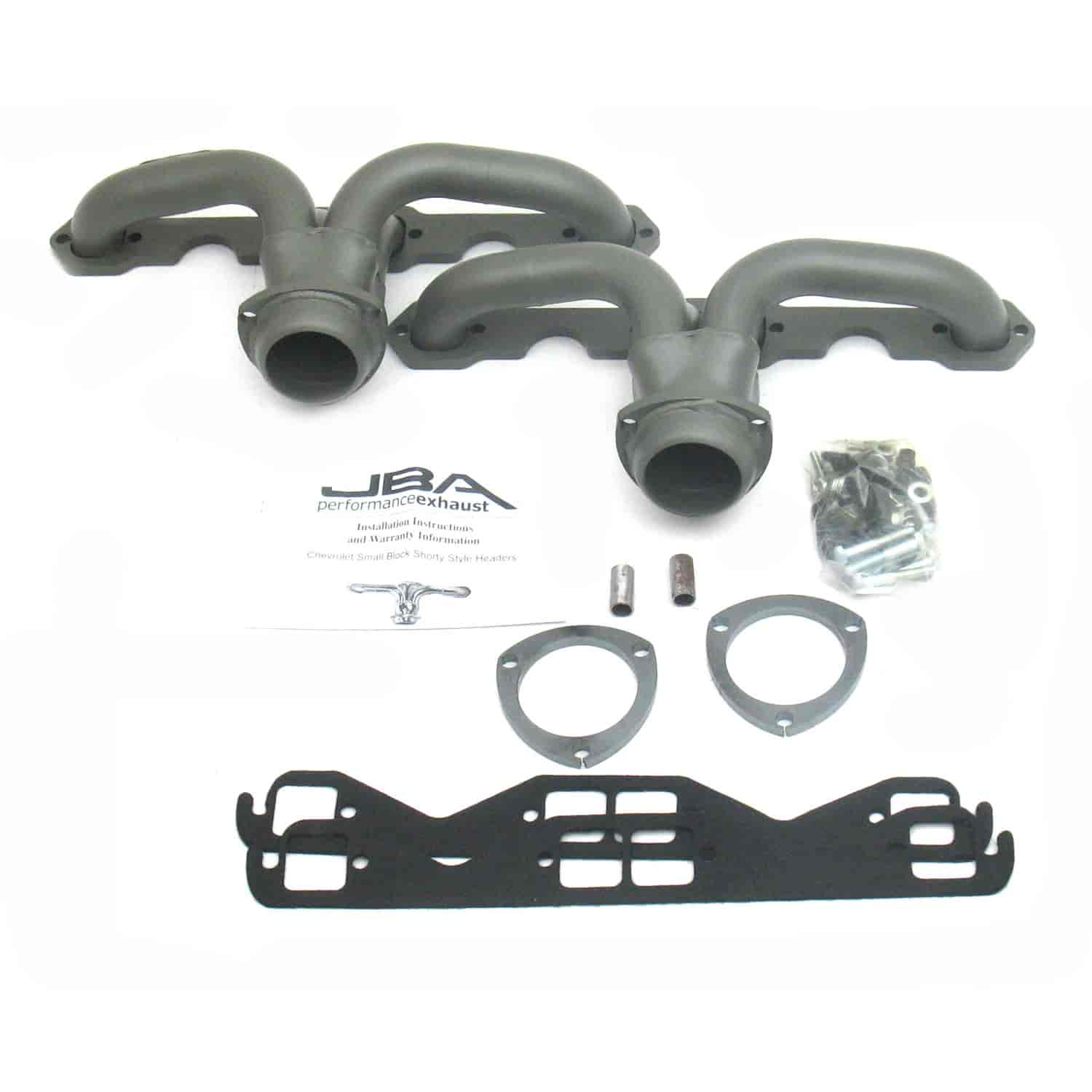JBA 1815S-1JT - JBA General Motors Shorty Headers