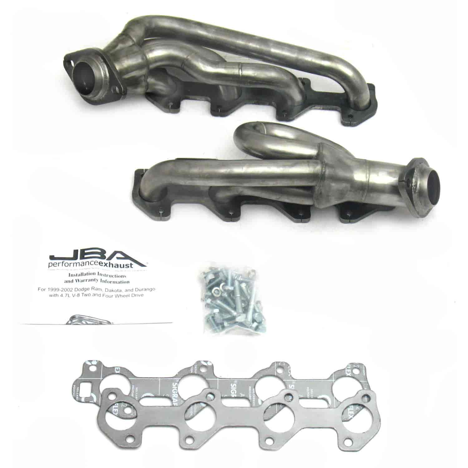 JBA 1949S-1 - JBA Mopar Shorty Headers