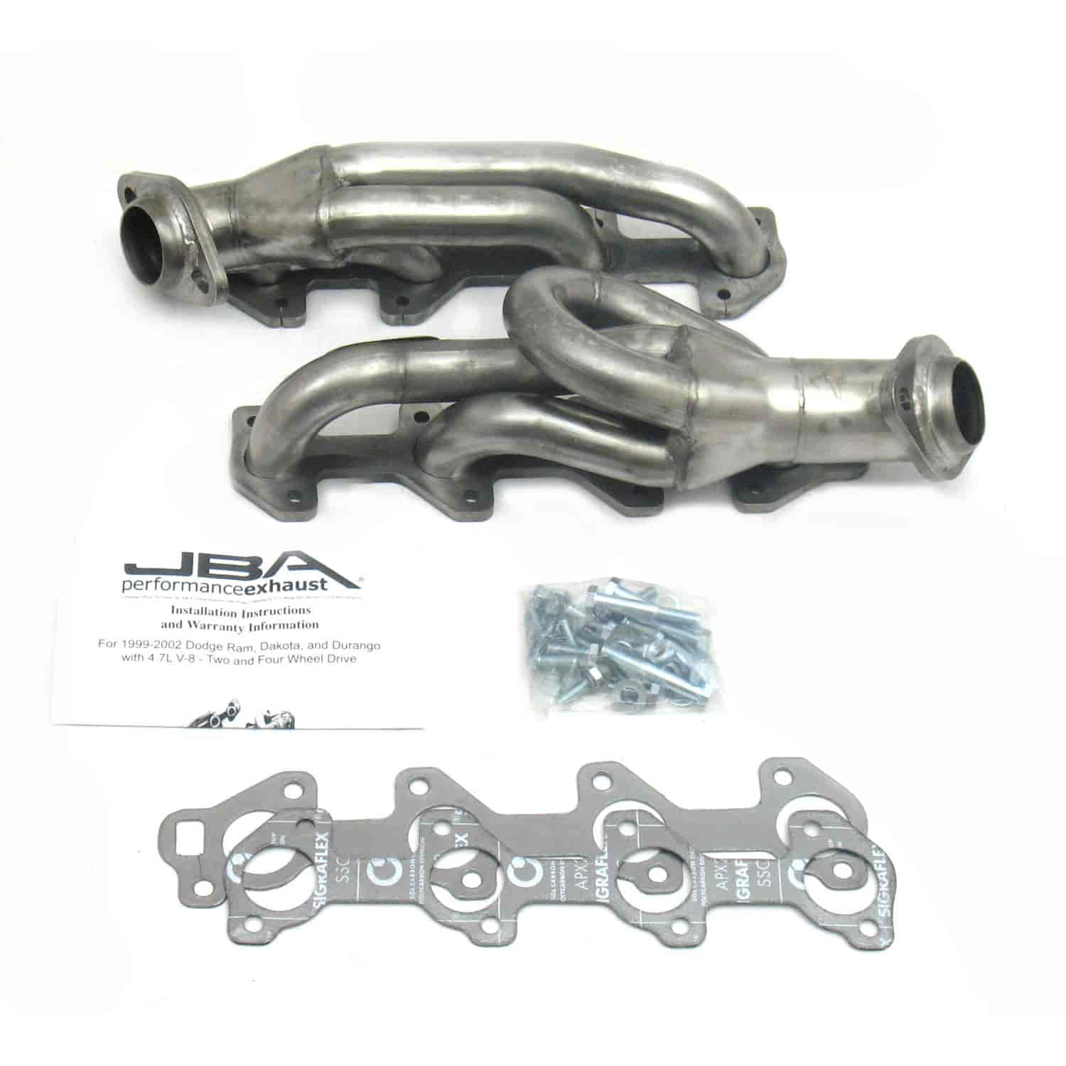 JBA 1949S-2 - JBA Mopar Shorty Headers