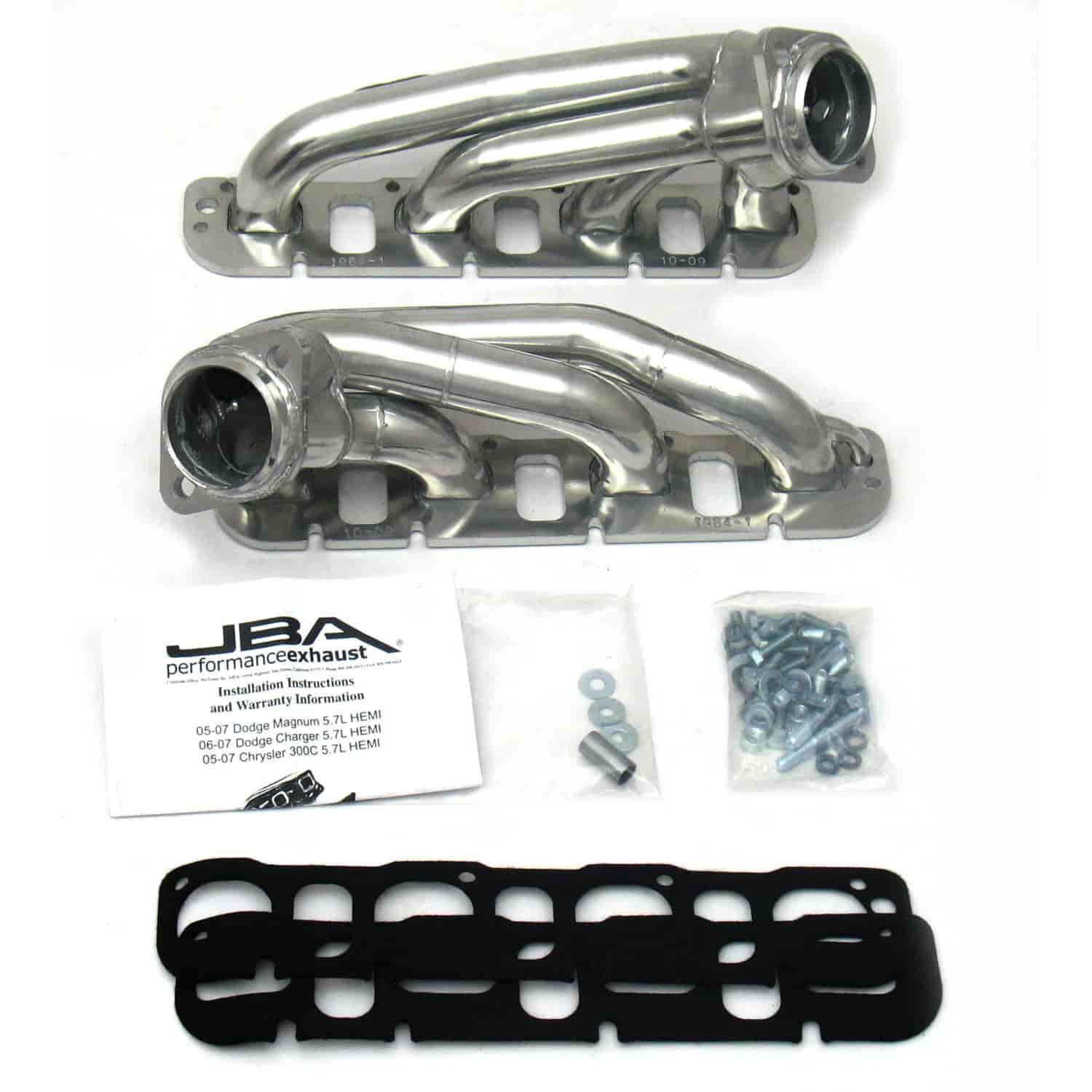 JBA 1964S-1JS - JBA Mopar Shorty Headers