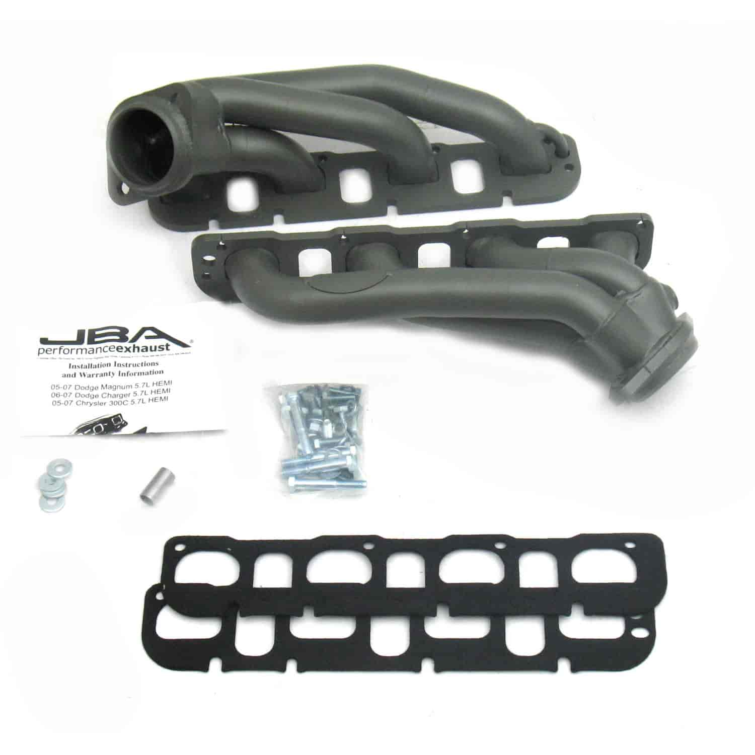JBA 1964S-1JT - JBA Mopar Shorty Headers