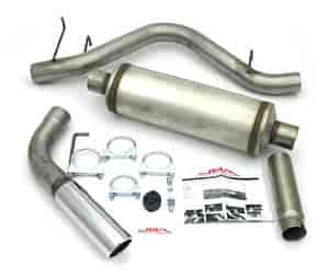 JBA 40-1508 - JBA Truck & SUV Cat Back Exhaust Systems