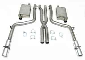 JBA 40-1600 - JBA Car Cat Back Exhaust Systems