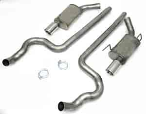 JBA 40-2639 - JBA Car Exhaust Systems