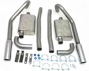 JBA 40-2654 - JBA Car Cat Back Exhaust Systems