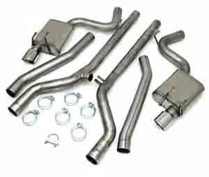 JBA 40-3113 - JBA Car Cat Back Exhaust Systems