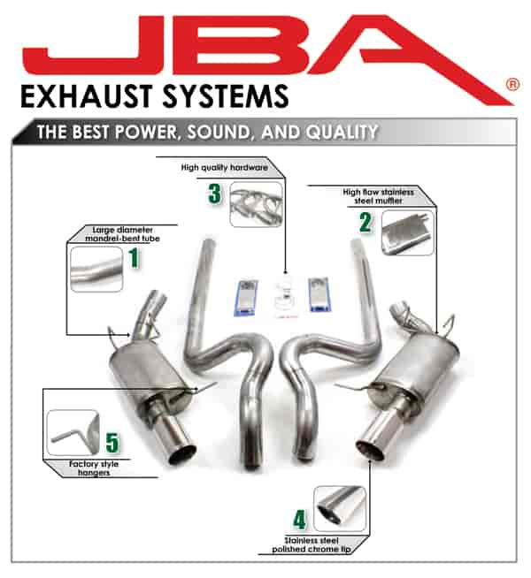 JBA Truck/SUV Exhaust Systems | JEGS