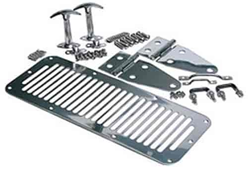 Rampage 7499 - Rampage Complete Hood and Hood Catch Kits