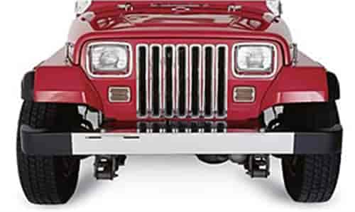 Rampage 7509 - Rampage Chrome Grille Inserts