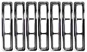 Rampage 7511 - Rampage Chrome Grille Inserts