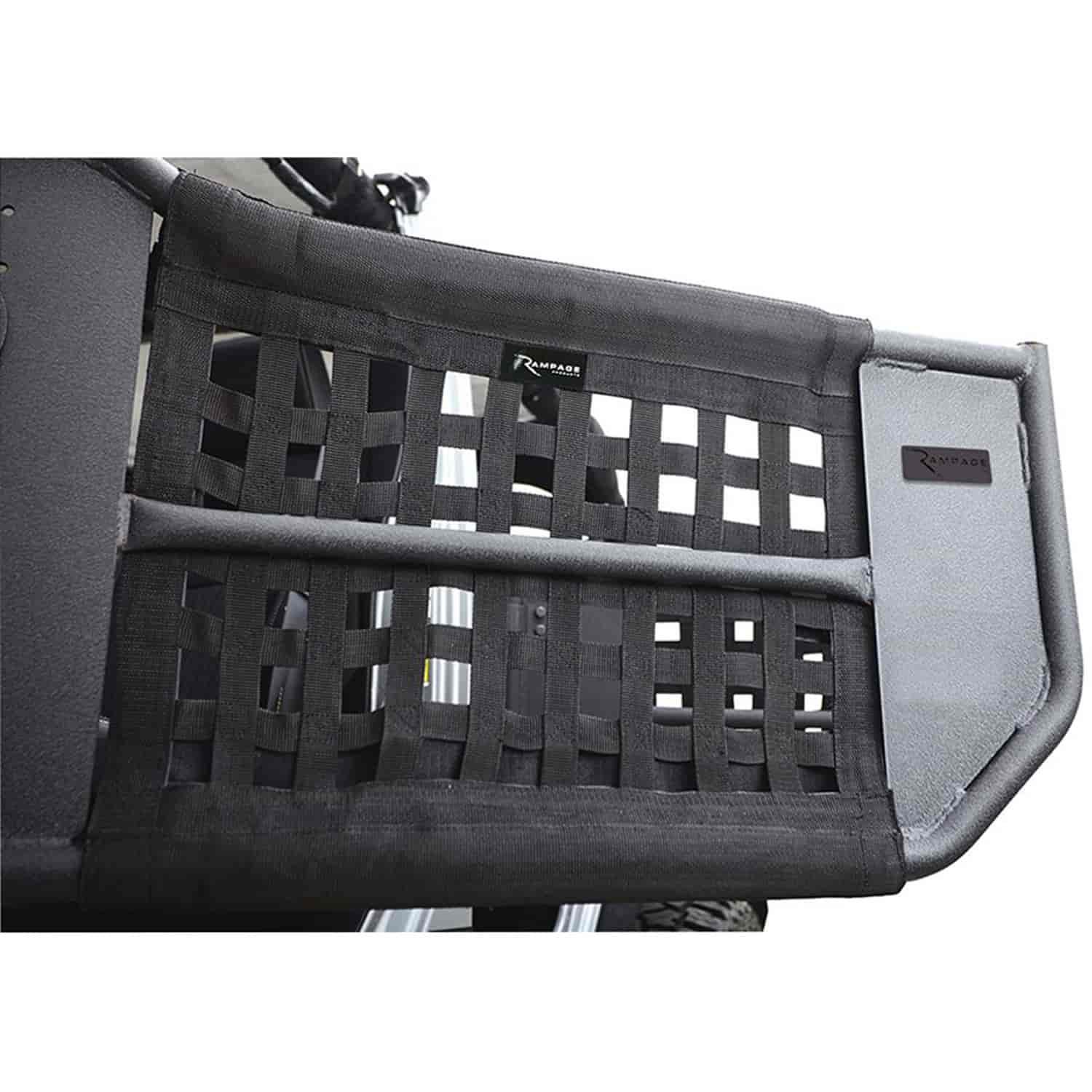 R&age 7684  sc 1 st  Jegs & Rampage 7684: Trail Doors for 2007-2017 Jeep Wrangler Unlimited 4 ...