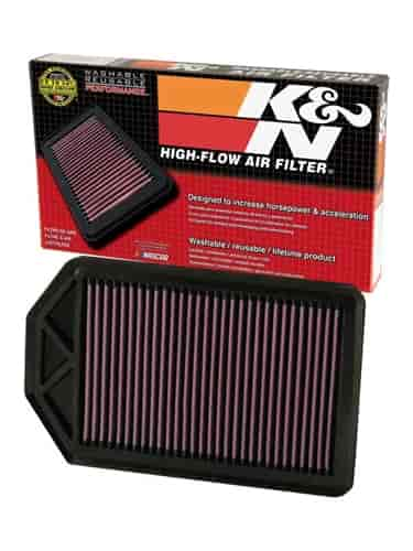 k n 33 2377 high performance oe style replacement filter. Black Bedroom Furniture Sets. Home Design Ideas