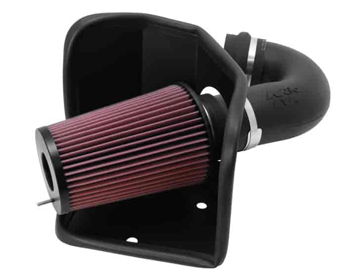 K&N 57-1525 - K&N High-Flow Cold Air Intake Systems (Truck/SUV/Powersports)
