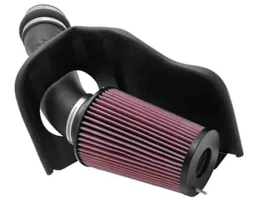 K&N 57-2530 - K&N High-Flow Cold Air Intake Systems (Truck/SUV/Powersports)