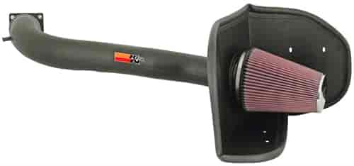 K&N 57-2570 - K&N High-Flow Cold Air Intake Systems (Truck/SUV/Powersports)