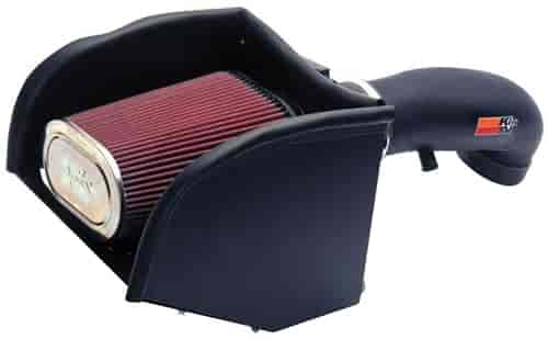 K&N 57-3013-2 - K&N High-Flow Cold Air Intake Systems (Truck/SUV/Powersports)