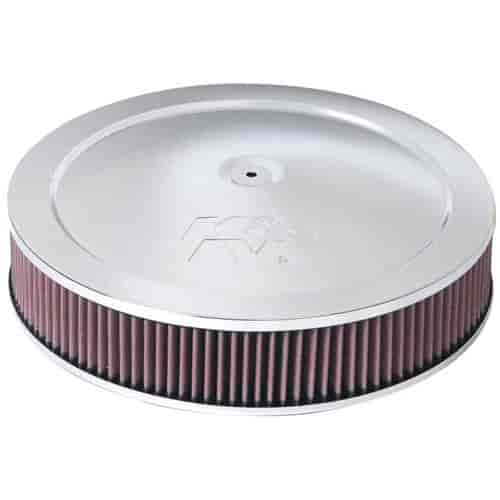 Low Profile Air Cleaner Assembly : K n  air cleaner assembly carb flange
