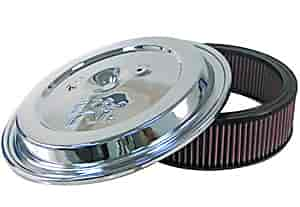 K&N CE-1502 - K&N GM Chrome Lid & Filter