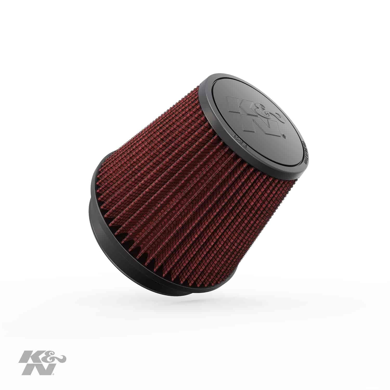 K/&N RU-5147 Universal Round Tapered Rubber Air Filter
