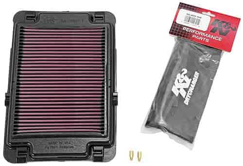 Air Filter For 2006 Honda TRX400EX Sportrax ATV~K/&N HA-4099