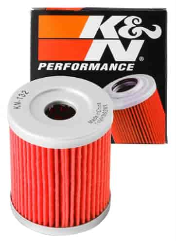 K/&N OIL FILTER 1987-1993 LT230E QuadRunner SUZUKI KN-132
