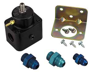 Holley 512-504-5 - Holley EFI Fuel Pressure Regulator