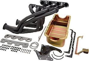 Hooker Headers 6223K - Milodon/Hooker/Ford Racing 351W Swap Kit for 1979-93 Mustang