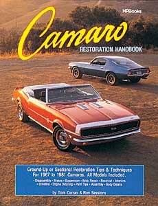 HP Books 0-895-863758 - HP Books: Camaro Restoration Handbook