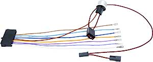 ididit 3100035775 wiring harness adapter 4 way flasher kit 1955 ididit 3100035775