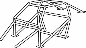 Jegster 941005K - Roll Cage Kits - Jegster ''GM'' Roll Cage Kits